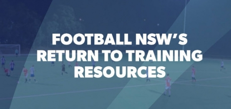 Football NSW Return to training guidelines